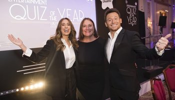 Joe Swash, Stacy Solomon and Julie Bentley at entertainment quiz of the year .jpg