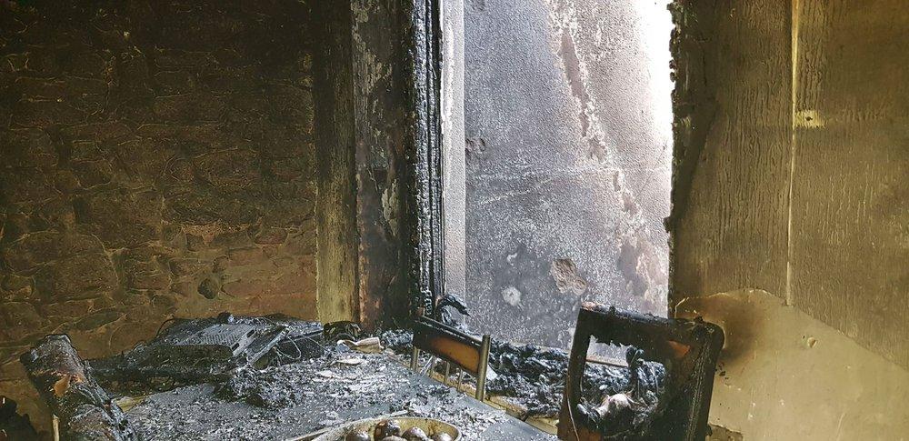 Joshua case study - fire damage
