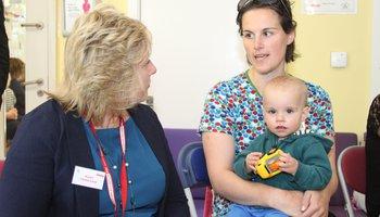 Vicky Sanham at Andrea Leadsom visit to Action for Children in Devon.jpeg